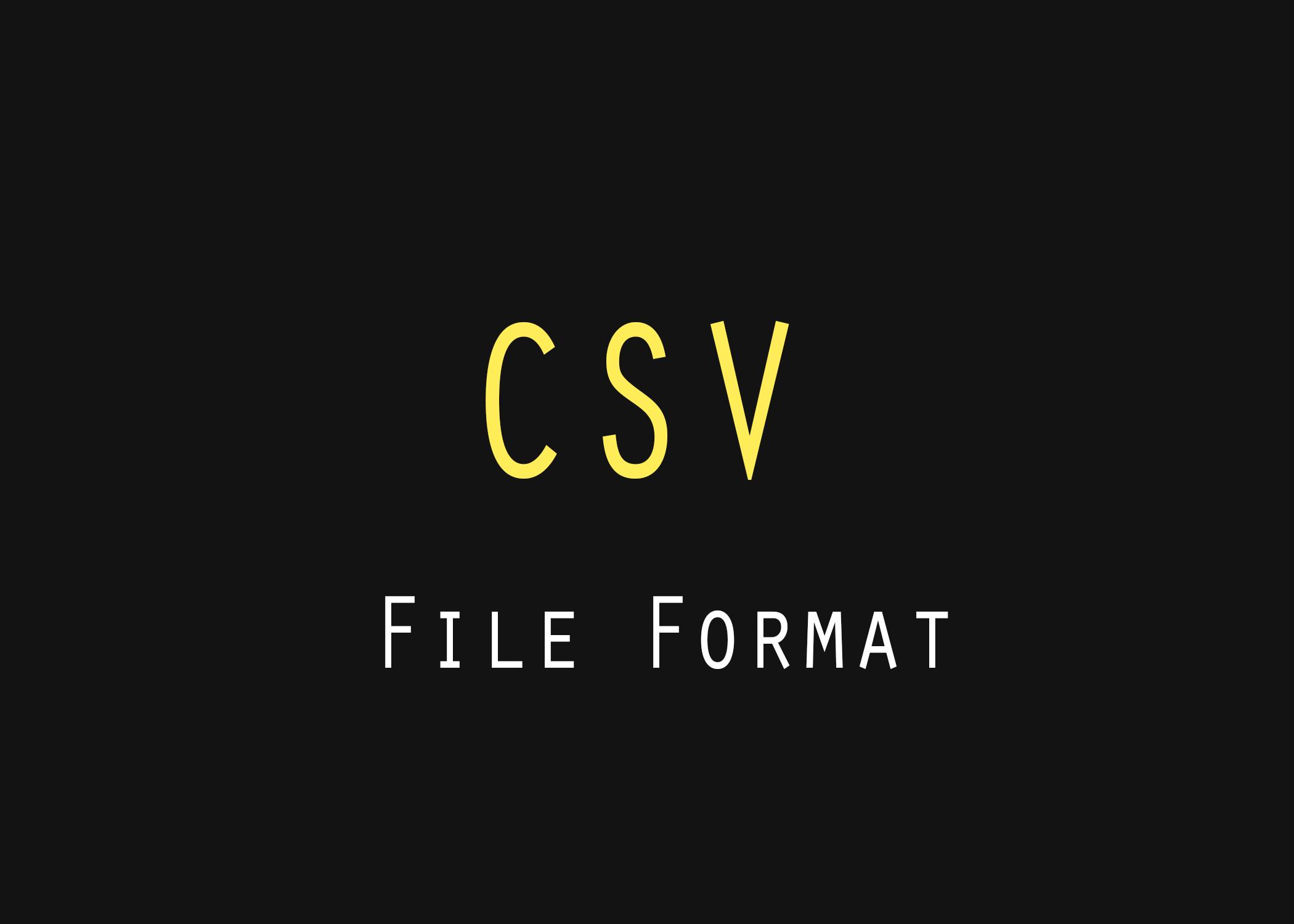 باسکردنی شێوە فایلی csv و دروستکردنی پارسەرێکی سادە